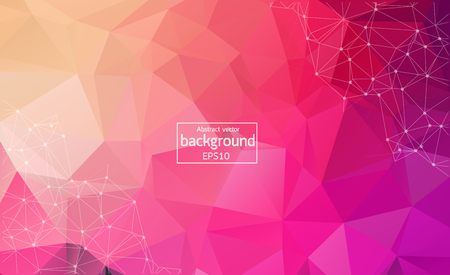 Vector background. Abstract polygonal colorful Иллюстрация