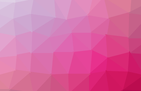 Multicolor purple, pink polygonal illustration, which consist of triangles. Geometric background in Origami style with gradient. Triangular design for your business.