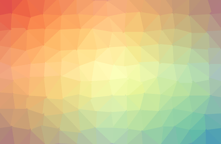 colorful polygonal illustration, which consist of triangles. Triangular design for your business. Creative geometric background in Origami style with gradient