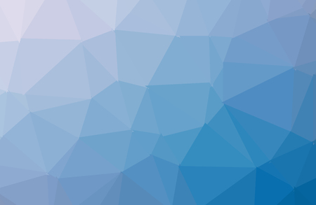 Dark blue geometric rumpled triangular low poly origami style gradient illustration graphic background. Vector polygonal design for your business. - Vector