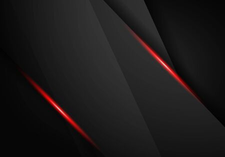 abstract metallic black frame design innovation concept layout background