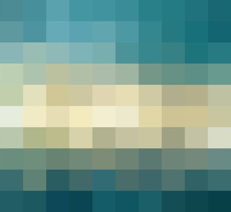 Multicolor Grid Mosaic Background, Creative Design Templates. abstract colorful gradient rectangles check . Background of squares Different pixel pattern shades. Illustration
