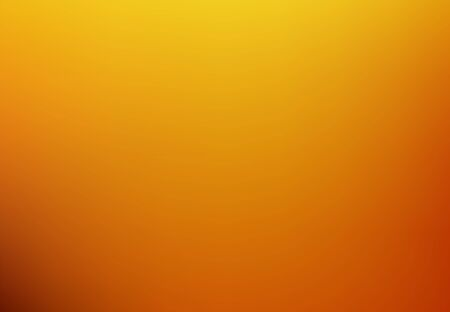 Abstract Orange blurred gradient background with light. Nature backdrop. Vector illustration. Ecology concept for your graphic design, banner or poster
