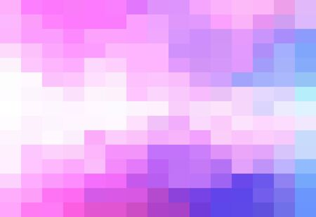 Abstract Colorful geometric Background, Creative Design Templates. Pixel art Grid Mosaic, 8 bit vector background. Illustration