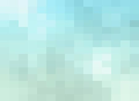 Abstract Blue geometric Background, Creative Design Templates. Pixel art Grid Mosaic, 8 bit vector background. Illustration