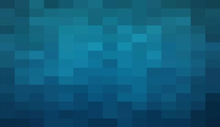 Abstract Dark Blue geometric Background, Creative Design Templates. Pixel art Grid Mosaic, 8 bit vector background.