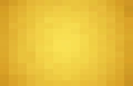Abstract Yellow geometric Background, Creative Design Templates. Pixel art Grid Mosaic, 8 bit vector background.