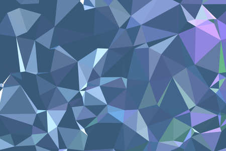 Abstract textured Multicolor polygonal background. low poly geometric consisting of triangles of different sizes and colors. use in design cover, presentation, business card or website.