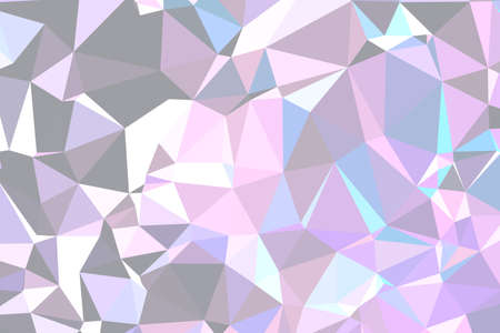Abstract textured light polygonal background. low poly geometric consisting of triangles of different sizes and colors. use in design cover, presentation, business card or website.