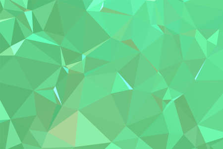 Abstract textured Light Green polygonal background. low poly geometric consisting of triangles of different sizes and colors. use in design cover, presentation, business card or website.