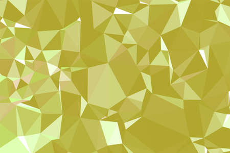 Abstract textured Yellow polygonal background. low poly geometric consisting of triangles of different sizes and colors. use in design cover, presentation, business card or website. 矢量图像