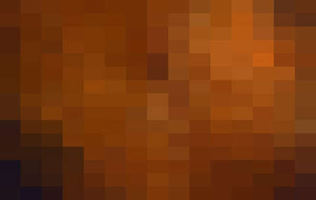 Abstract Orange Grid Mosaic Background, Modern abstract illustration with triangles. Creative Design Polygonal Template mosaic with squares.