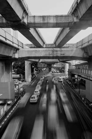 Busy street  photo