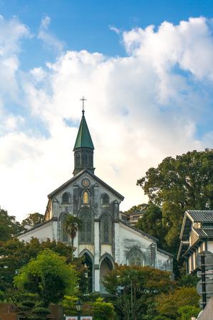 nagasaki: A vintage church in Nagasaki