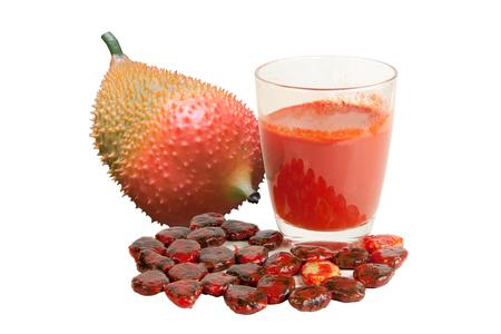 jack fruit: Baby Jack fruit isolated