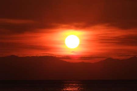 Sunrise at Lipe island, south of Thailand Stock Photo - 13246220