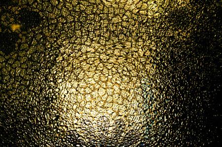nostalgic: Close up of frosted glass texture background. Nostalgic effect Stock Photo