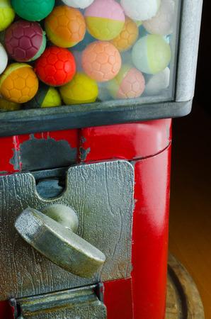 distributeur automatique: Colorful distributeur de balle Machine (distributeur automatique, pi�ces de monnaie, r�tro)
