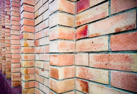 ourdoor: Old brick wall texture. Concept image wall brick background