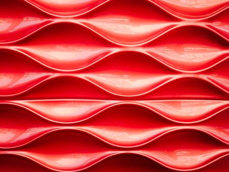 plastic texture: Red plastic texture and background, Repeat pattern Stock Photo