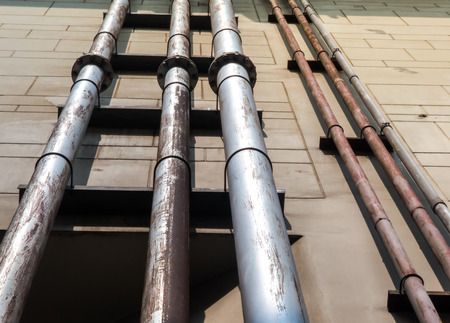 Water pipe system or drainage tubes for industrial plants construction.