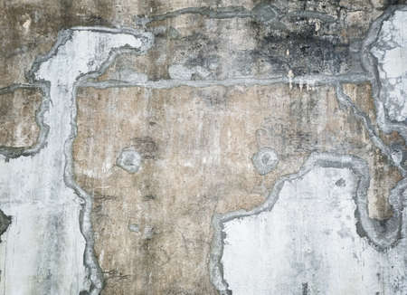 Old Cement Wall Distressed textured and background. ( Abstract surface of stone wall texture background) Standard-Bild