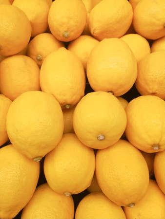 Organic Yellow Citrus Fruit Lemon background.