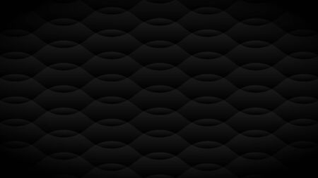 Dark tone background image with curved shapes with slightly different lighting. Vector