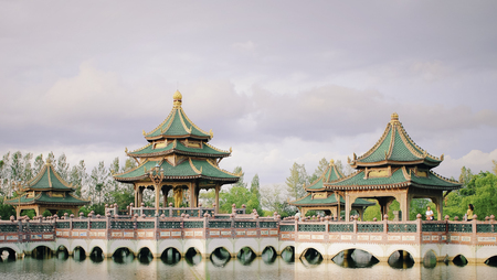 Chinese culture building