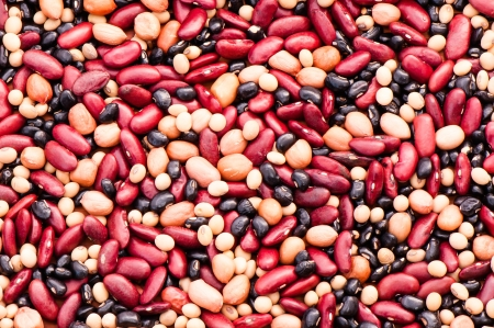 Bean mix, for textures photo