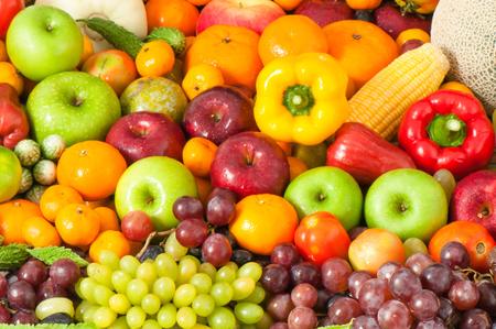 finer: Fruits and vegetables