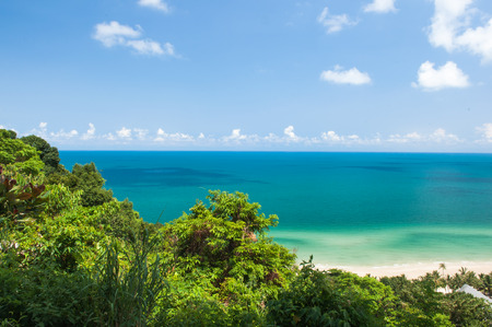 thailand s landmarks: Koh Chang Island and Sea view Stock Photo