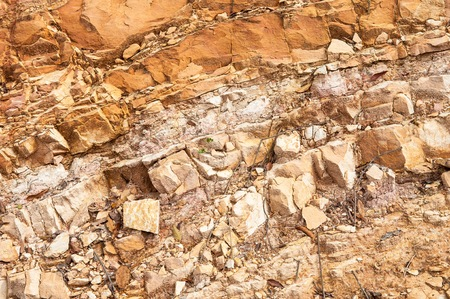 Rock crossection and background Stock Photo - 28894647