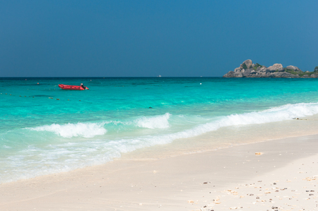 similan islands: Paradise Beach at Similan Islands Stock Photo