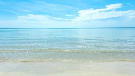 over the sea: Beautiful beaches Stock Photo