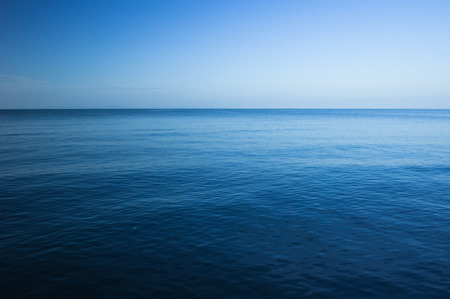 seascape: Blue sea