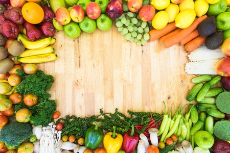 alimentacion sana: Fondo de alimentos saludables