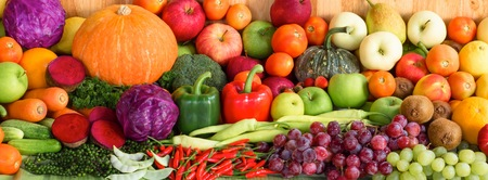 Fruits and vegetables organics photo