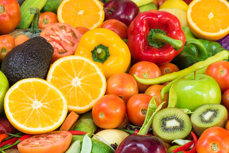 organics: Fruits and vegetables