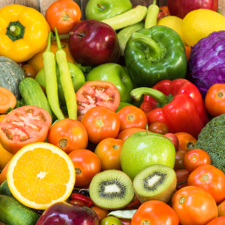 eating fruits: Fruits and vegetables
