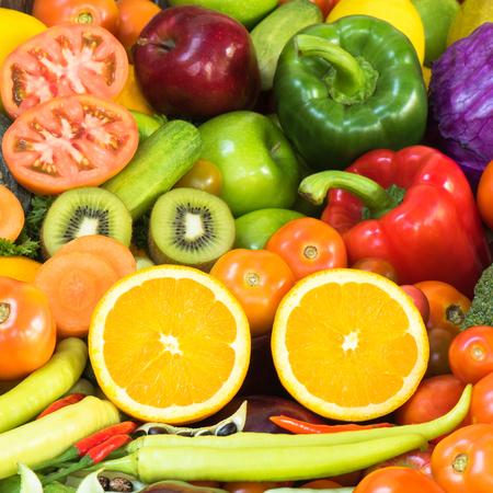 Fruits et légumes Banque d'images - 35482688