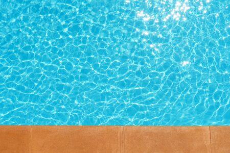 swimming pool: Water in swimming pool