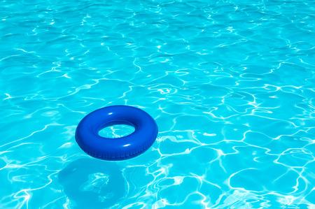 Buoy On Water Pool Stockfoto