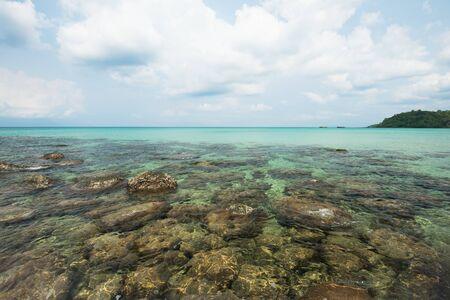 kood: Reef and shallow beach at Koh Kood Island , Thailand