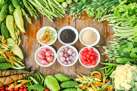 healthy product: Spice and Vegetables organics