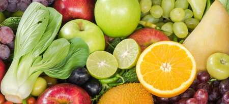 Frisches Obst und Gemüse organischen