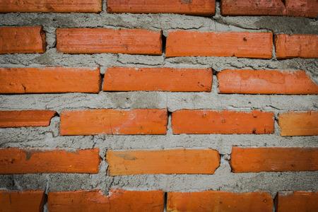textured wall: Old brick wall  textured Stock Photo