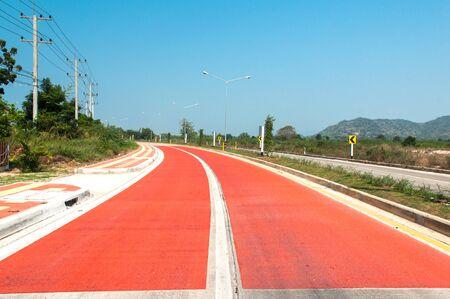 curve road: Curve of danger road