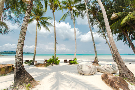 kood: Tropical beach landscape at Koh Kood island in Thailand