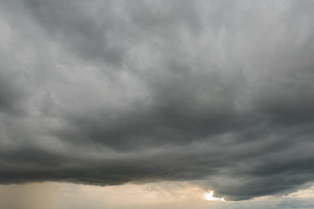 variability: A Huge storm clouds and weather variability